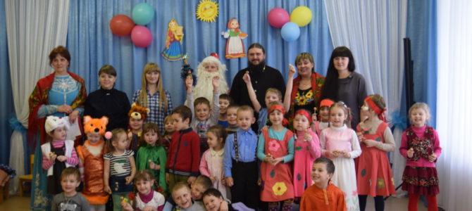 Масленица в Александровском детском саду.