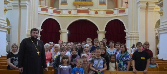Паломническая поездка детей из юго-восточного благочиния в Белоруссию.